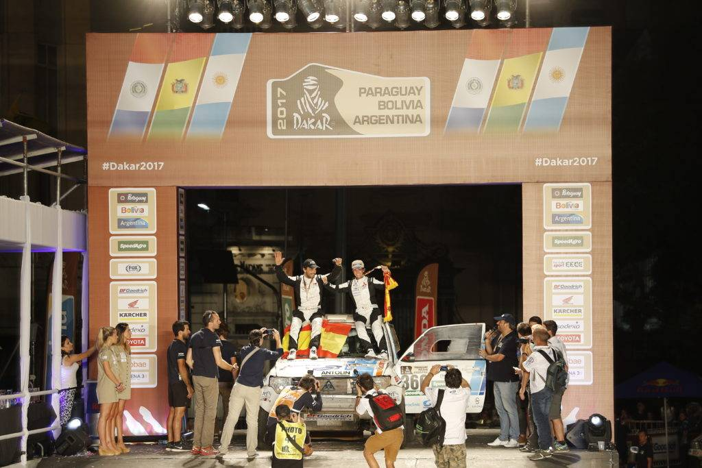 44ª Clasificada en el Rally Dakar