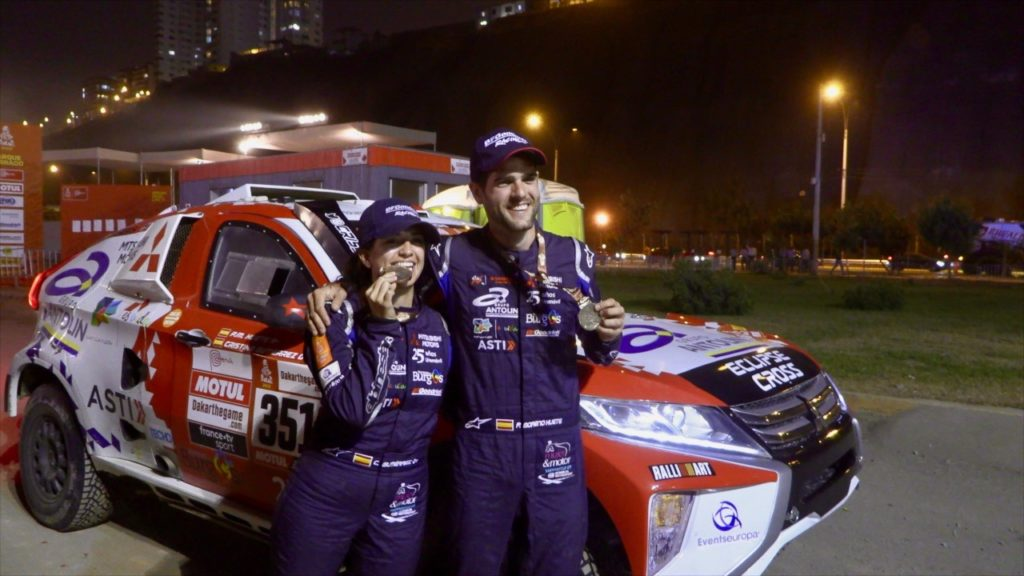 38ª Clasificada en el Rally Dakar