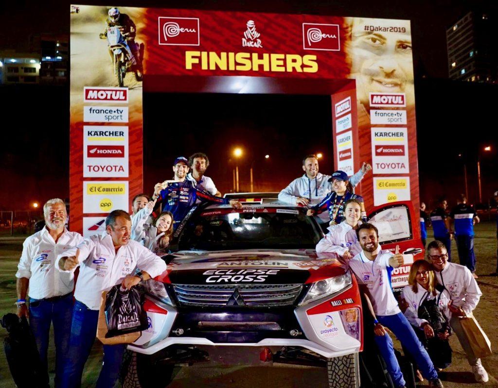26ª Clasificada en el Rally Dakar