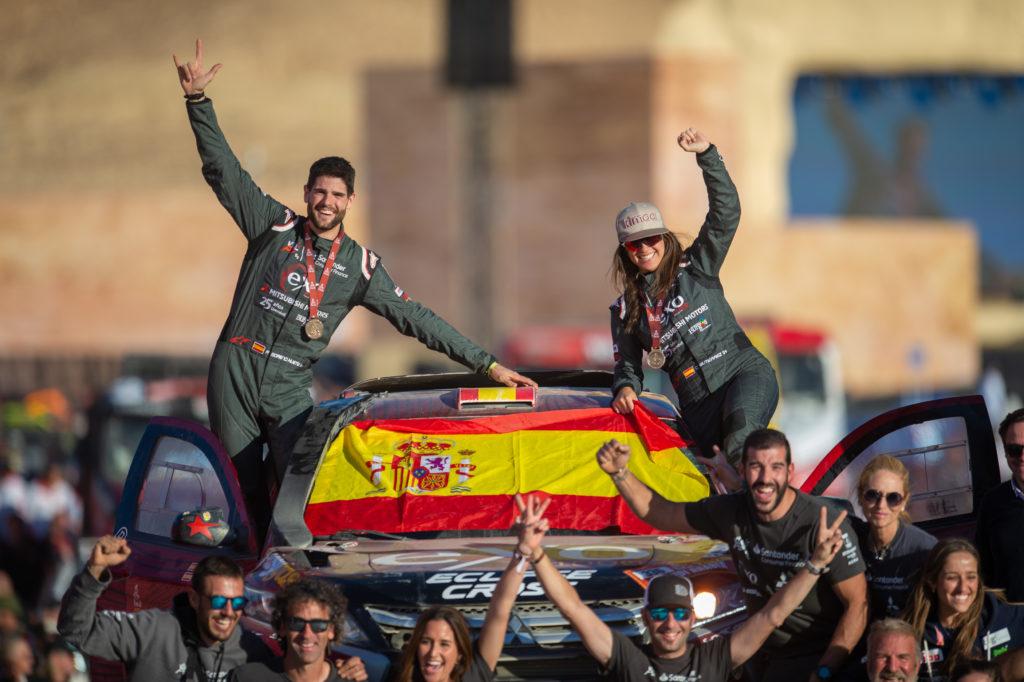 42ª Clasificada en el Rally Dakar