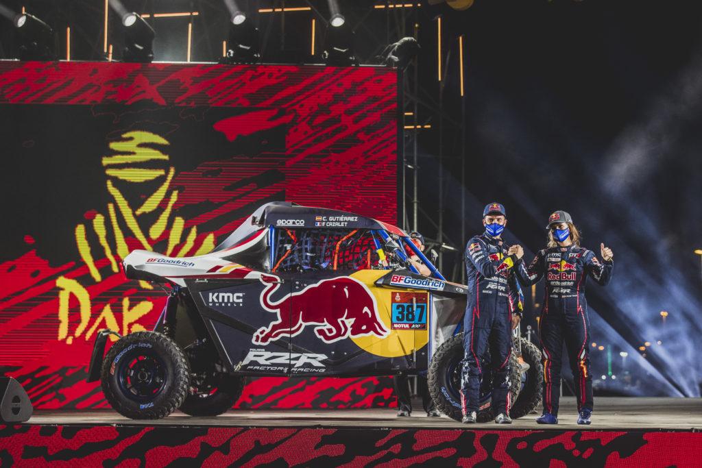 Ganadora de la primera etapa del Rally Dakar 2021